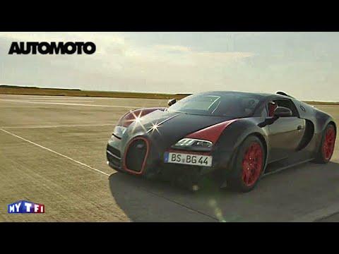 Défi : atteindre 400 km/h en Bugatti Veyron Grand Sport Vitesse !