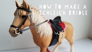How To Make A Schleich Bridle! | Daisy Stalls