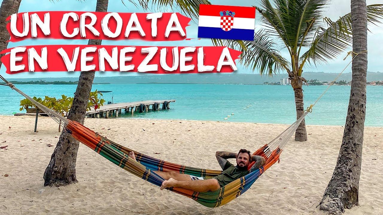 ¿ES SEGURO que un EXTRANJERO recorra VENEZUELA? un Croata en Morrocoy, esto fue lo que pasó.