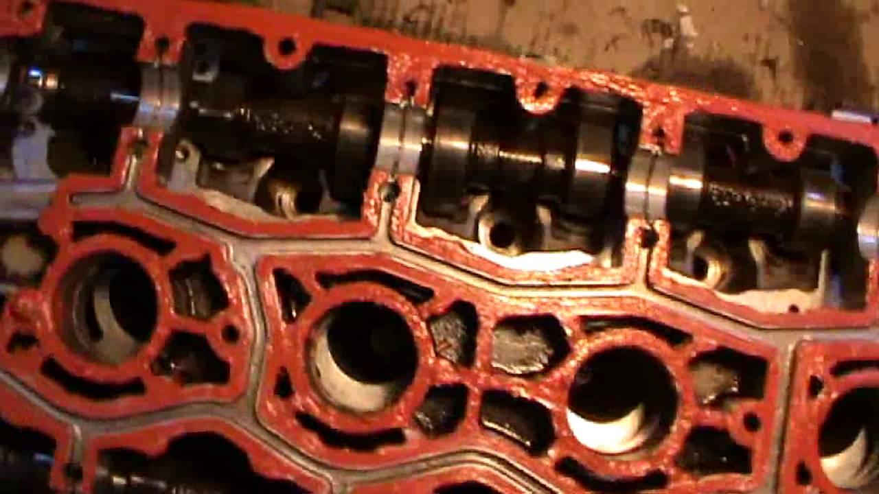 Сборка двигателя ВАЗ 2110 16 клапанов 2 часть