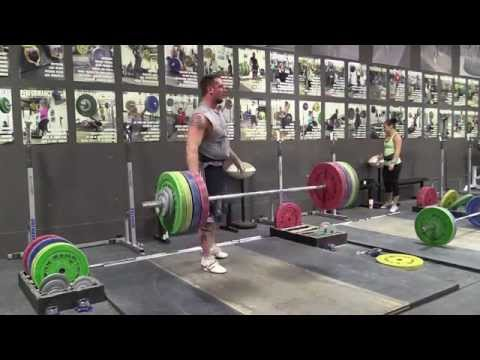 Greg Everett On The Minute Clean Workout up to 175 kg