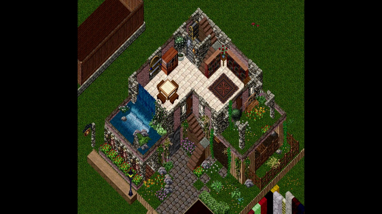 Ultima online custom house builds july 2016 youtube for Custom home design online