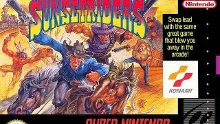 GamePlay # 10:Sunset Riders-Super Nintendo