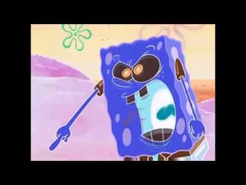Something similar? Spongebob has no penis think, that