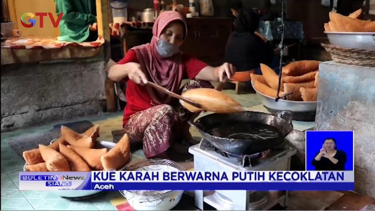 Unik! Kue Keukarah Khas Aceh, Menyerupai Sarang Burung - BIS 23/06