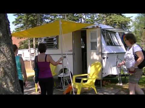 2013 Maritime Vintage Fiberglass Camper Meet