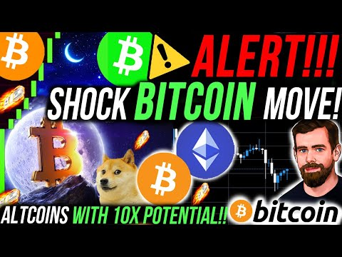 ALERT!!🚨SHOCKING BITCOIN PRICE MOVE!!! SMALL ALTCOINS WITH 10x POTENTIAL!!! CRYPTO NEWS & ANALYSIS