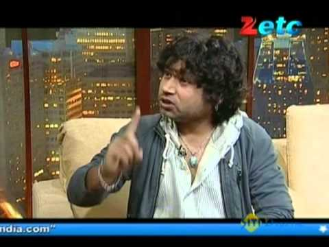 Komal Nahta with Kailash Kher