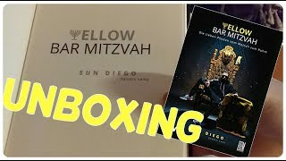 Sun Diego Buch  UNBOXING (deutsch)  Yellow Bar Mitzvah