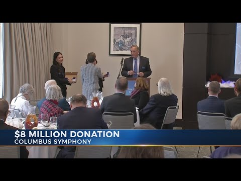 $8 million donation made to Columbus Symphony