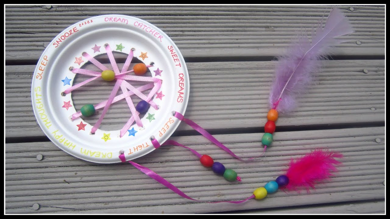 Dream Catchers For Children Kids DIY Dream Catcher YouTube 8
