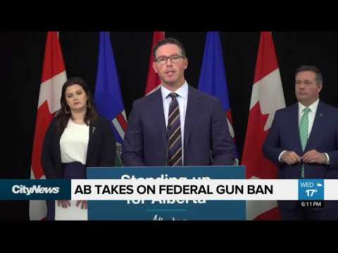 Alberta takes on federal gun ban