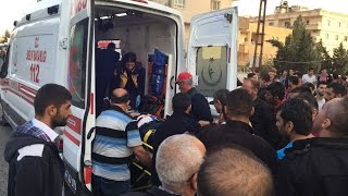 Midyat'ta otomobil ile motosiklet çarpıştı