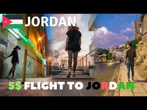We Got a 5$ Flight to Jordan | First Impressions of Amman and Jordan