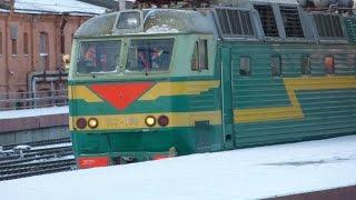 Отправление поезда и его внезапная остановка. Срыв стоп-крана?