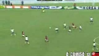 Flamengo 1x0 Botafogo 1º jogo da final do carica 2008