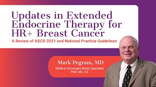 Updates in Extended Endocrine Therapy for HR+ Breast Cancer | ASCO21 & National Practice Guidelines