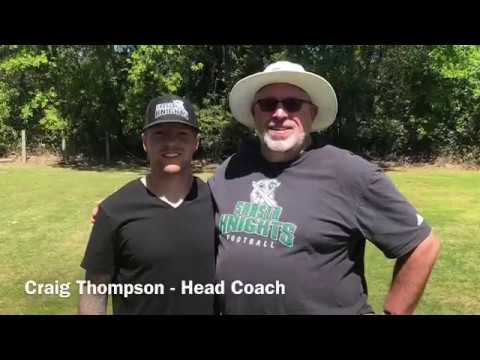 Shasta College Head Football Coach, Craig Thompson