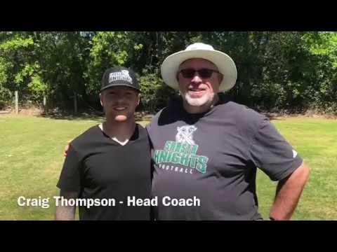 Shasta College Head Football Coach, Craig Thompson