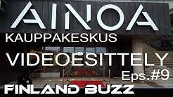 Uusi AINOA Kauppakeskus vaihe 2 Avajaiset ( VIDEOESITTELY ) Tapiola - Ainoa Shopping Center phase 2