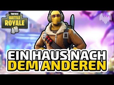 Ein Haus nach dem anderen - ♠ Fortnite Battle Royale ♠ - Deutsch German - Dhalucard