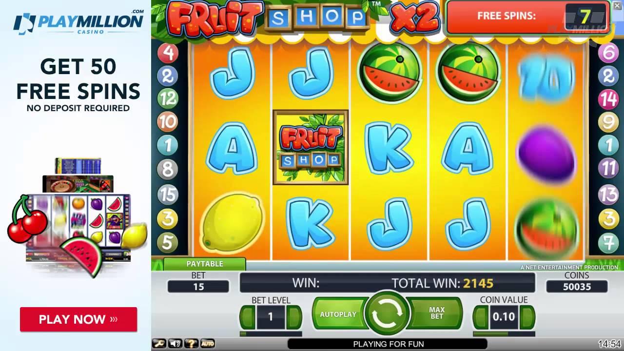 Crazy Wins Playing Fruit Shop Slot Youtube