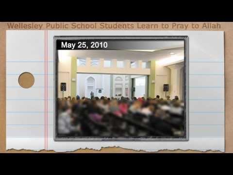 Wellesley, Massachusetts Public School Students Learn to Pray to Allah