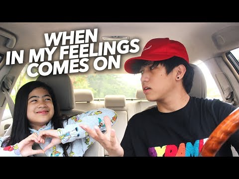 When In My Feelings By Drake Comes On | Ranz and Niana Mp3