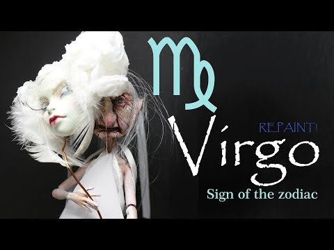 Repaint! Virgo Custom OOAK Monster High doll