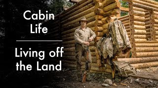 Living off the Land at the Log Cabin