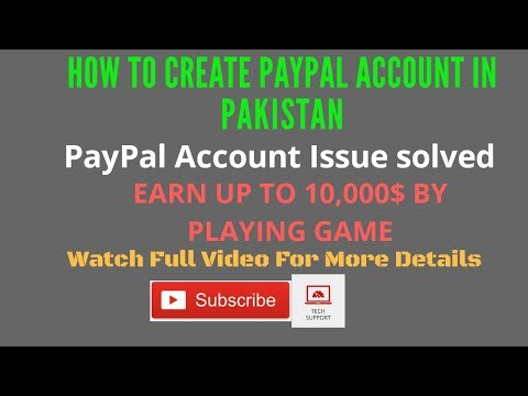 How To Make PayPal Account In Pakistan 2018 - Earn Up To 10000$ From PayPal Moola Mania Game