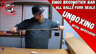 Emgo motorcycle Bar & All Balls Fork seal kit! Unboxing & initial impressions on these Budget Parts