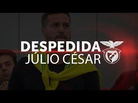 DESPEDIDA JÚLIO CÉSAR