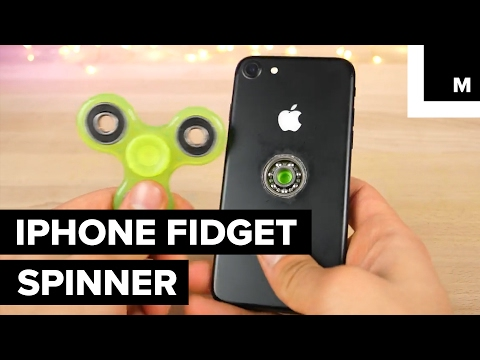 Thumbnail: Someone made an iPhone fidget spinner
