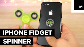 Someone made an iPhone fidget spinner