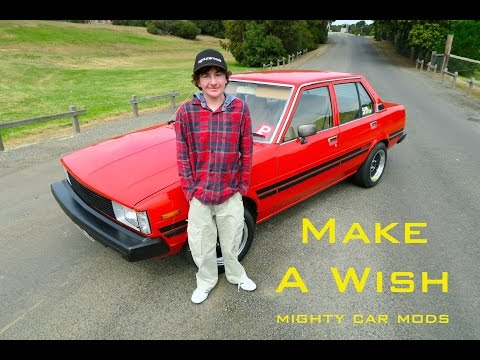 Make-A-Wish With Mighty Car Mods