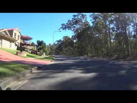 Ferny Hills to Samford via new bikeway, Queensland Australia