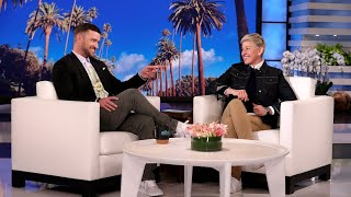 Justin Timberlake and Ellen Can't Repeat Their Silent Conversation on TV