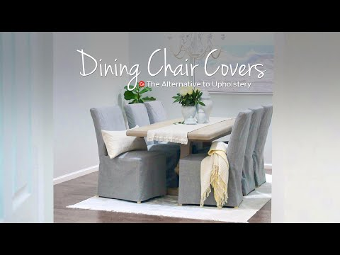ikea-dining-chair-makeover-with-custom-covers- -comfort-works-slipcovers