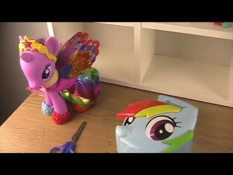 MLP Rainbow Dash Hair Styling Case Review -  Featuring Princess Twightlight Sparkle