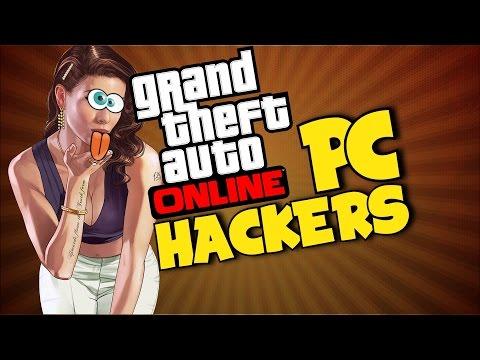 GTA 5 - PC Hackers! (Funny Moments)