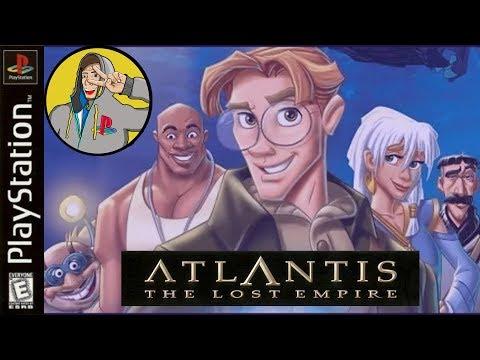 Инвалид-стрим - Atlantis: The Lost Empire PS1 одной рукой №2