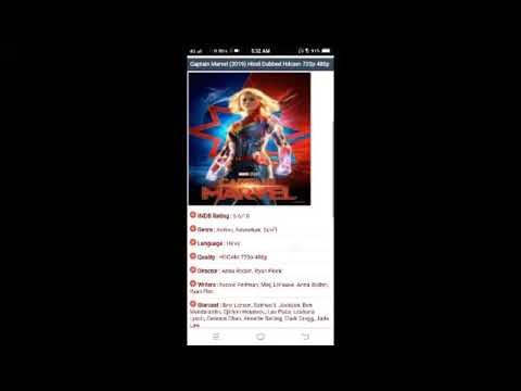 Captain Marvel Hindi Dubbed Full Movie Download | Captain Marvel Movie Download Hd