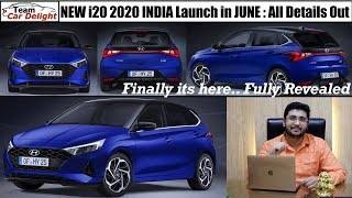 New Hyundai i20 2020 India to Launch in June - Price,Features,Interior,Exterior,Engine Options