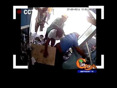 SHOCKING: ATTACK ON SHOP-OWNER AT PANJIM