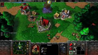Dread's stream | Warcraft III - FFA с бандой | 08.10.2018