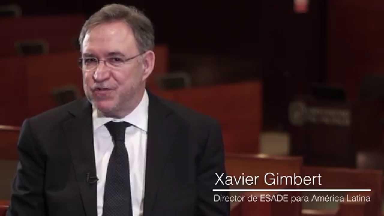 Xavier Gimbert - Director de ESADE para América Latina - YouTube