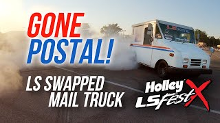Gone Postal! - LS Swapped Mail Truck - Holley LS Fest