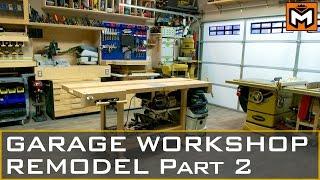 Garage Workshop Remodel Part 2