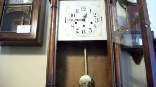 Large Unique Antique Howard Miller Regulator Clock